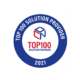 Badge reflecting The ITeam being selected as a Top 100 Solutions Provider by CDN in 2021